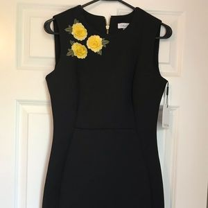 Calvin Klein Fitted Back Dress NWT